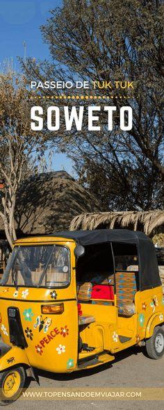 Vamos embarcar em um passeio de tuk tuk em Soweto e conhecer e aprender mais sobre um do grandes símbolos da luta pela liberdade na África do Sul.