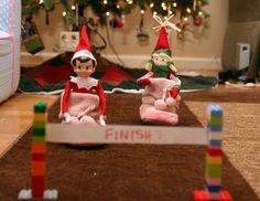 Sugar and Buttercup  Over 70 Elf on a Shelf ideas