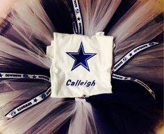 A personal favorite from my Etsy shop https://www.etsy.com/listing/199590246/dallas-cowboys-child-or-adult-tutu