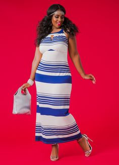 d9a26aabab Striped Maxi DressClassic in Stripes