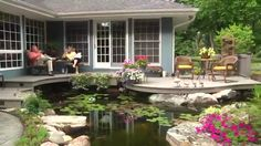 Home improvement tips: World's Most Beautiful Backyard Ponds
