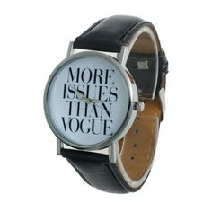 Montre more issues vogue