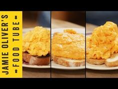 How To Make Perfect Scrambled Eggs - 3 ways by chef Jamie Oliver. Watch as he shows you how to make perfect scrambled eggs the British, French, and American ways!