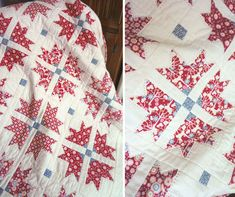 cross and crowns pattern Tilda-Candy-Bloom-Blog-Hop-Quilt