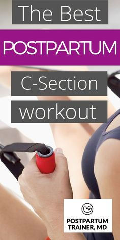 An Easy Postpartum Workout For Beginners [Only 4 Exercises] - Do you want to work out after having a cesarean section? Learn about the best cesarean section work - Postpartum Workout Plan, Post Pregnancy Workout, Postnatal Workout, Pregnancy Health, Postpartum Recovery, Gym Workout Tips, Post Workout, Fun Workouts, Workout Motivation