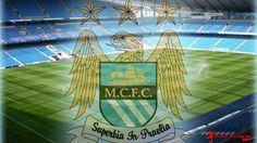 Download Manchester City Fc Logo Wallpaper | Full HD Wallpapers