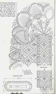 delicate crochet lace doily nBest Home Decorating WebsitesOMG what a beautyHome Decoration With Paper CraftHome Decoration Ideas For Wedding Crochet Doily Diagram, Crochet Doily Patterns, Crochet Chart, Thread Crochet, Filet Crochet, Crochet Motif, Crochet Stitches, Knit Crochet, Crochet Table Runner