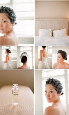 Love this idea!! --> Pick a new scent for your wedding day, that scent will remind you of that day each time you wear it :)