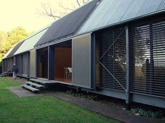 Fredericks House by Glenn Murcutt Architecture Durable, Sustainable Architecture, Residential Architecture, Architecture Details, Australian Architecture, Australian Homes, Shed Homes, Prefab Homes, Modern Barn House