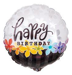 In elegantem, klassischem Design eignet sich der Ballon zum Geburtstag für Männer und Frau.
