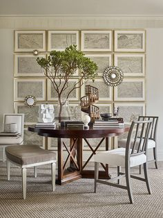 hickory chair banquette lumbar support office 312 best suzanne kasler images worth round table jardin side chairs s paris collection