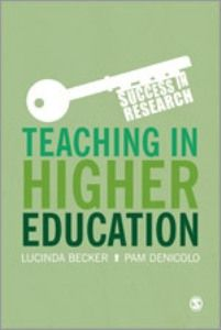 Teaching in higher education --book