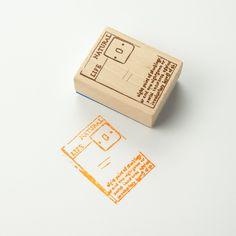 Chamil Garden Wood Rubber Stamp - Book C3 by niconecozakkaya on Etsy