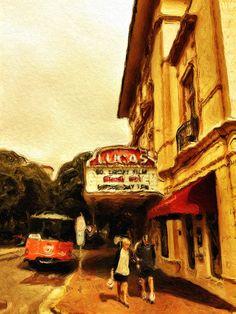 Lucas Theatre, Abercorn Street, Savannah