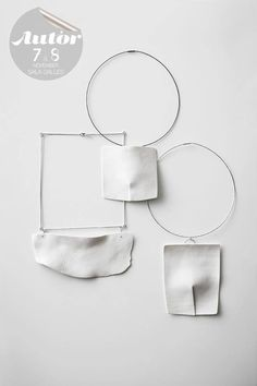 Letizia Maggio's porcelain and silver jewellery has to be seen as the place…