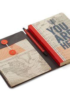 You Globe, Girl Journal | Mod Retro Vintage Desk Accessories | ModCloth.com