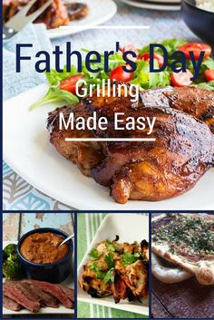 Ode To Dad - Father's Day Made Easy Inspired By a Dad's 65th Birthday Celebration with his kids - Dinner - Recipes - Barbeque
