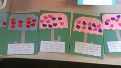 """""""The Day it Rained Hearts"""" my Math Lesson and TLC Project"""