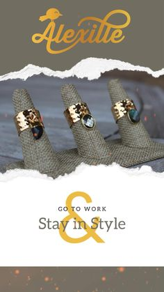 This beautiful adjustable high quality gold plated ring will become your everyday ring. The band has been hammered and gives it its artisan look and the dangling gemstone makes a statement. You can choose between the stormy blue electroplated Labadorite, the black onyx claw or the oval pyrite.