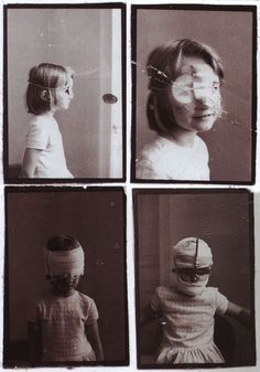Gottfried Helnwein - Selbstdarstellung als sechjähriges Mädchen, 1972