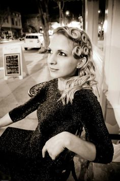 © Uliana Goncharova   VIntage Portraits @Hailey Ennis