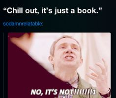 SERIOUSLY, NOT JUST A BOOK
