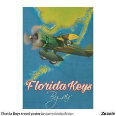 Florida Keys travel poster