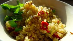 Thyroid Diet - quinoa with goji berries and nuts