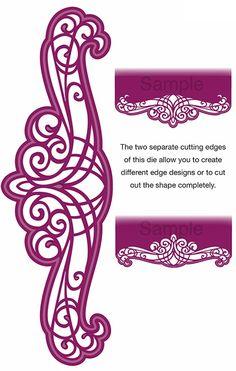 Sue Wilson Designs - Die - Gemini Pavo