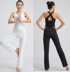 Para mujer ropa de yoga yoga conjunto de aerobic y fitness ropa sin mangas traje deportivo