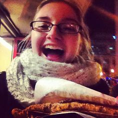Yes, BeaverTails pastries will make you THIS happy :)  Photo by alliegee94