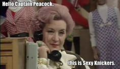 Mrs. Slocombe. Are You Being Served?