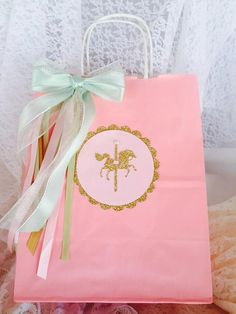 Carousel Horse Goody Bags - Carousel Horse Favor Bags - Party Bags - Guest Bags…