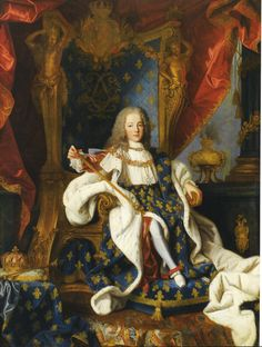 The Met Museum in NYC owns this painting of Louis XV in Full State, when he was only age 5 and preforming Court ceremonies. The Metropolitan Museum of Art, NYC. Orlov Photograph. 2015.