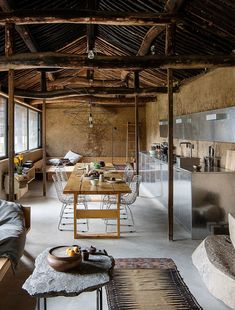 Image 15 of 20 from gallery of Studio Cottage / Christian Taeubert + Sun Min. Photograph by Christian Taeubert Wabi Sabi, Deco Cafe, Stil Inspiration, Inspiration Boards, Bohemian Apartment, Rural House, Cottage, House Inside, Aesthetic Design