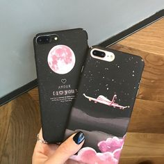 $2.69 - Luxury Space Moons Cartoon Case For Apple Iphone X 8 7 6 6S Plus Case Cute Candy #ebay #Electronics