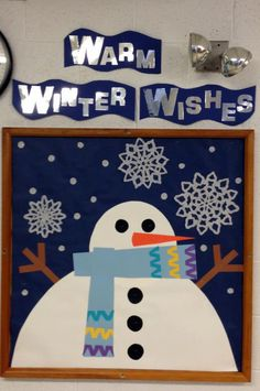 Winter Bulletin Board Ideas | ... And Lincoln Bulletin Board Idea » Walk With Miss Cleo Bulletin Board