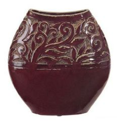 Imax Corp. Red Tuscan Vase
