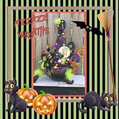 Items similar to Cauldron floral arrangement ~Witch Cauldron centerpiece~Witches Cauldron~Halloween centerpiece~Halloween Decor~Witch decor~Halloween witch on Etsy Halloween Season, Halloween Themes, Halloween Decorations, Halloween Centerpieces, Witch Signs, Witch Wreath, Witches Cauldron, Faux Pumpkins, Witch Decor