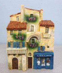 J CARLTON DOMINIQUE GAULT MINIATURE Building LIBRARY LIBRARIE 210241 CR