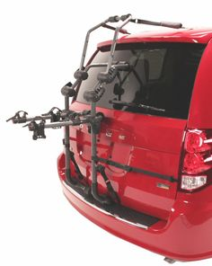 Over-the-Top Bike Rack - Spoiler Clearance Solution - Bike Racks, Hollywood Racks Over The Top, Trunks, Bicycle, Vans, 3 Three, Jeep Jeep, Hollywood, Anchors
