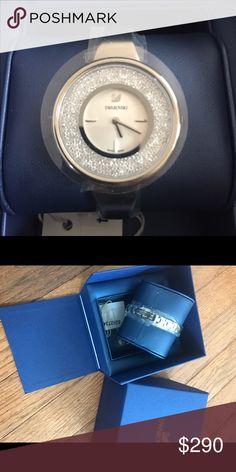 2017 Crystalline Pure Swarovski Watch brand new never worn Swarovski Jewelry Bracelets