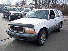 1998 Gmc Jimmy SL SUV 4 Doors White for sale in Denver, CO http://www.usedcarsgroup.com/denver-co/1998-gmc-jimmy-1gkdt13w1w2540196.html