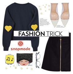 """""""SNAPMADE NO. 5"""" by tfashionspeaks ❤ liked on Polyvore featuring Acne Studios, Tom Ford, Gianvito Rossi and White Label"""