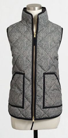Cute quilted puffer vest - on sale for $22.49 with code:  EVENBETTER