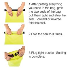 COOSKIN Waterproof Gear Dry Bag For Kayaking Tubing Traveling Boating Camping Hiking Hunting Skiing Snowboarding Dry sack with Closure and Shoulder Strap. Fluorescent Yellow 20L * Check this awesome product by going to the link at the image.(It is Amazon Camping Accessories, Hiking Gear, Water Sports, Boating, Snowboarding, Kayaking, Diving, Shoulder Strap, Surfing