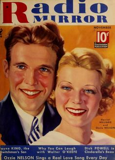 Harriet Hilliard and Ozzie Nelson 1934