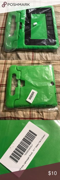 HDE Kids Lightweight Shock 10.1 Galaxy Tab 4 HDE kids lightweight shock 10.1 Galaxy Tab 4 green, foam like, New without tags Other