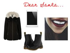 """""""Dear Santa"""" by kristina-hudakova on Polyvore featuring Oasis and Dr. Martens"""