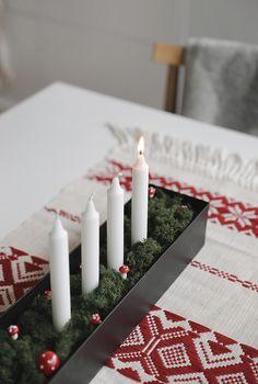 Hem - Trendenser Scandinavia House, Advent, Candles, Favorite Things, Decor, Decoration, Candy, Candle Sticks, Decorating